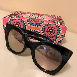 Le Specs Women's Savanna Mirrored Sunglasses